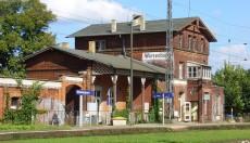 Bahnhof Wiesenburg I Neuland Hoher Fläming